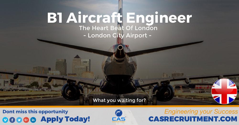 CAS Recruitment B1 Aircraft Engineer Embraer 190 Latest Aviation Jobs.jpg