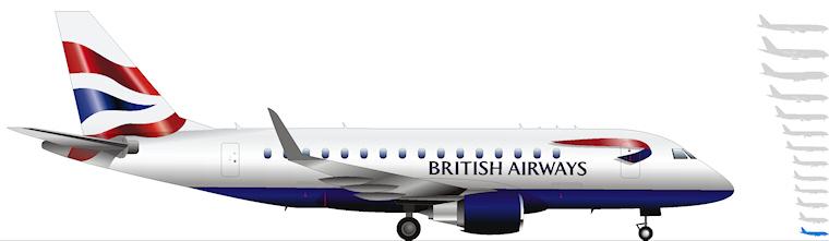 BA Cityflyer Embraer 170