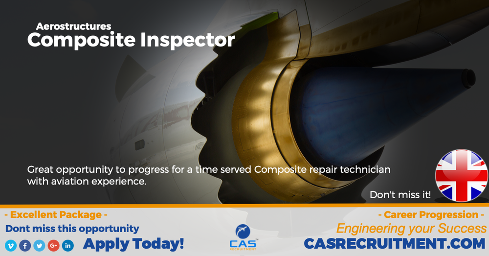 CAS Recruitment aerostructures Composite repair inspector latest aviation jobs.png