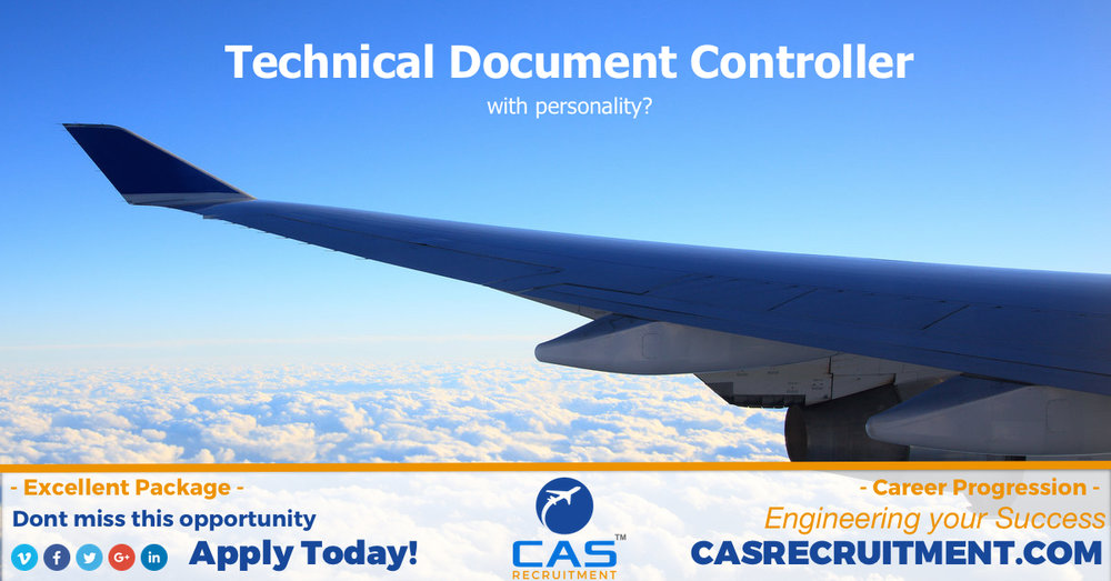 CAS Recruitment Technical document controller latest aviation jobs.jpg