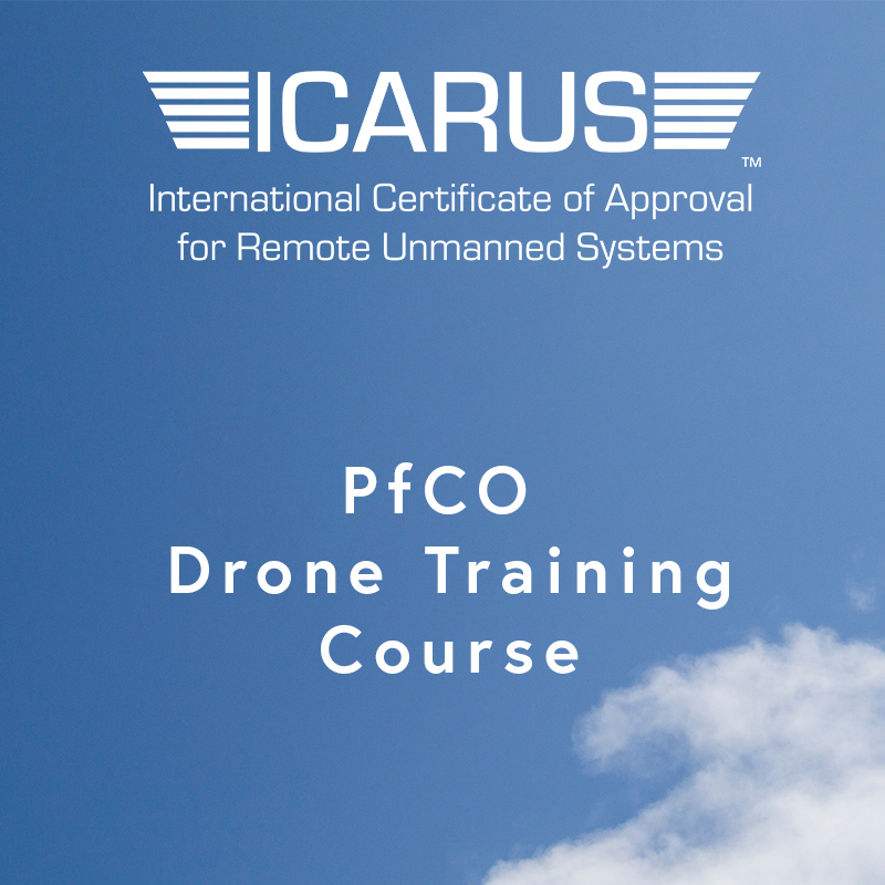 £832.50 + VAT - £999 inc. VATICARUS Standard2 Day Drone Course+ Flight Examination+ ICARUS Resource Library+ Operations Manual Review+ Free Flight Assessment Insurance