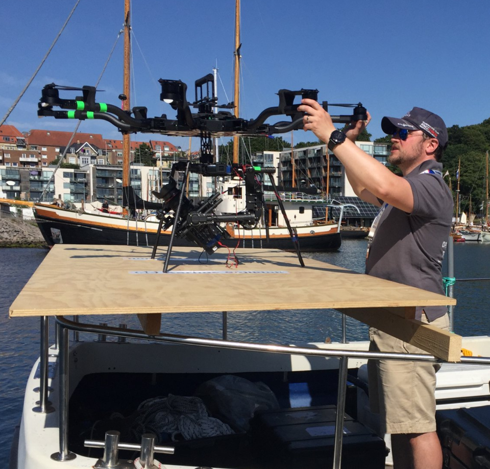 Matt Williams | MR MPW | Prepping the Freefly Systems Alta 8 for flight at the World Sailing Championships 2018 in Aarhus, Denmark