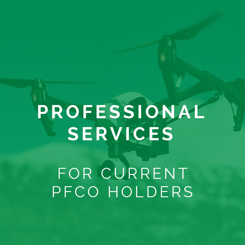 professional services for current pfco holders