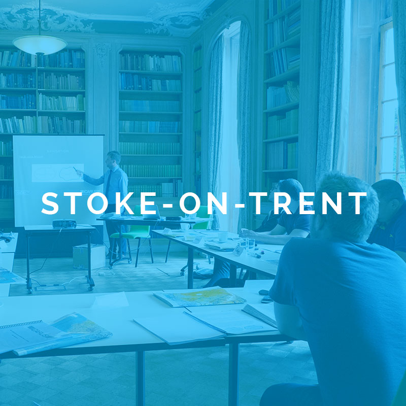 Stoke-on-Trent drone course ..