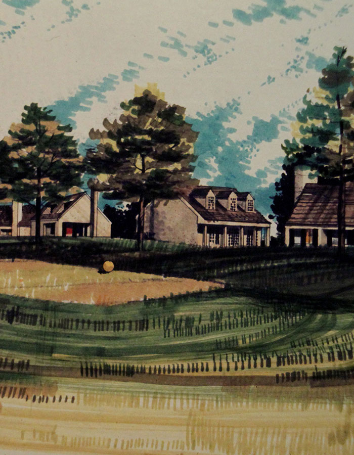 1972 - MUIRFIELD MASTER PLAN
