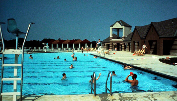1986 - DUBLIN COMMUNITY POOL NORTH