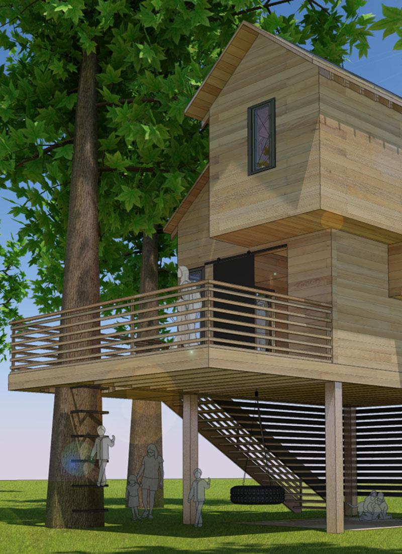CHAPEL HILL (TREE) HOUSE