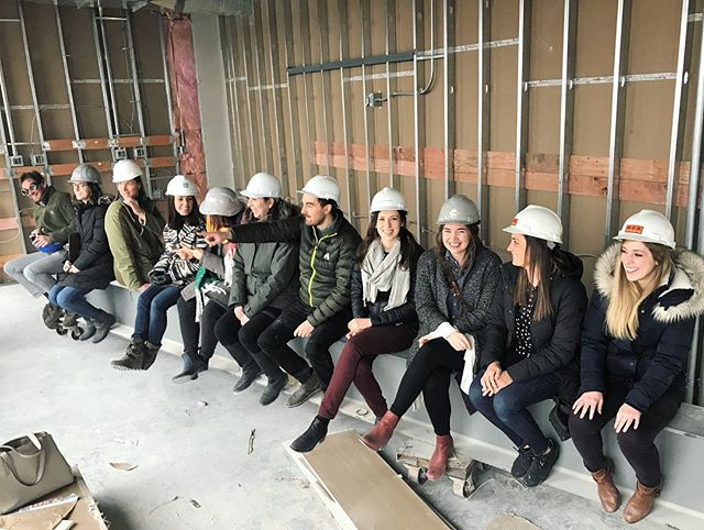 WSA does a site visit. And a historic photo re-make. ⠀⠀⠀⠀⠀⠀⠀⠀⠀ We're really excited about this one, guys. Read about our design of the new Forge technology innovation center currently under construction in Columbus. (Link in bio).