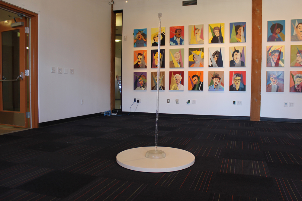 Installation view at New American Museum 2016