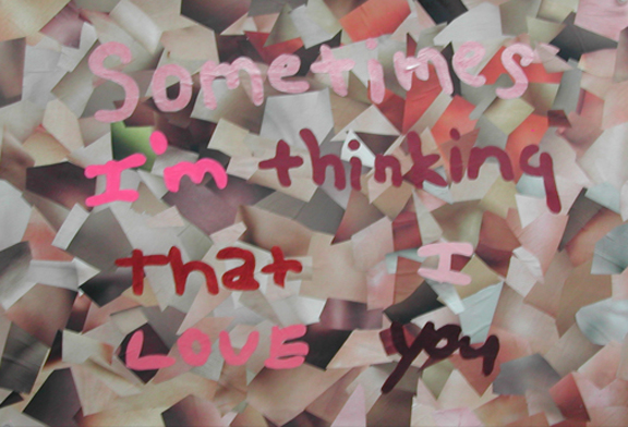 Sometimes I'm Thinking...