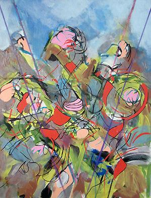 """Acrylic on canvas  26""""x20"""" 2014"""