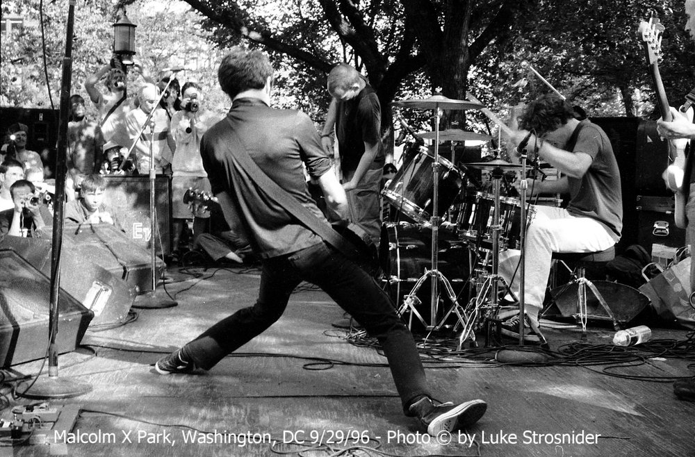Malcolm X Park, Washington, DC 9/29/96 - Photo © by Luke Strosnider