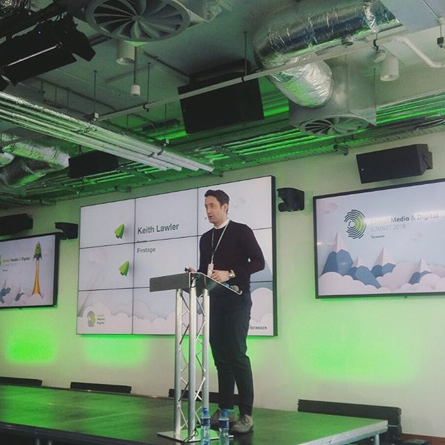 It was a great pleasure to present what we are doing at Firstage at the the Heineken Global Digital summit yesterday.