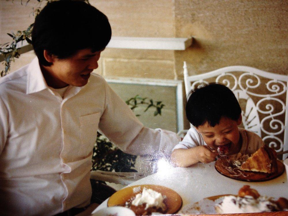 Eric and Dad cake.JPG