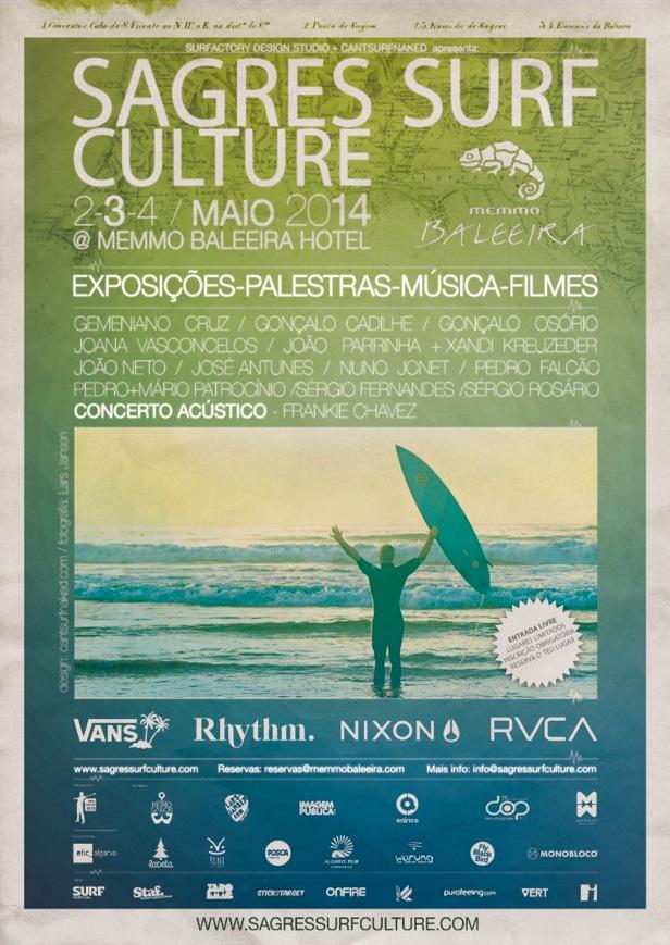 SAGRES SURF CULTURE 2014 Poster