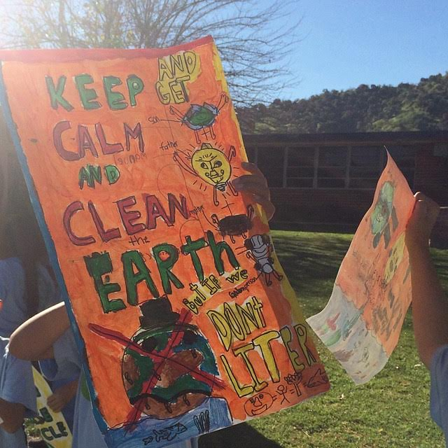 Some students even staged principal-endorsed sustainability marches. But you don't have to put on protest to get involved - you can become an expert by starting with simple steps.