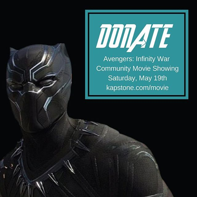 Just one week until 100 underserved SoCal kids are treated to a free showing of Avengers: Infinity War at the AMC Marina Pacifica in Long Beach. Sponsor a kid's cinema seat by making a donation, nominate/invite deserving families to attend, and help us spread the word to inform others of the event! . . #avengers #blackpanther #avengersinfinitywar #infinitywar #marvel #movienight #freemovietickets #rsvp #donate #joinus
