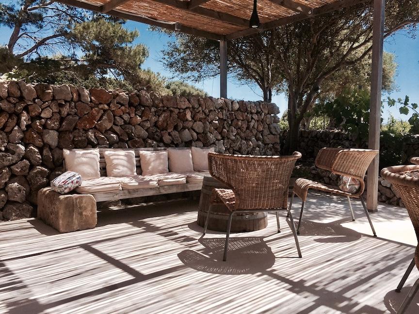 Lounge area at Binifadet