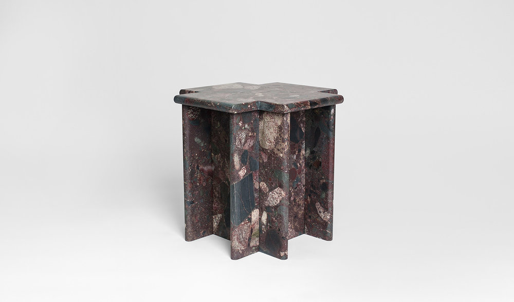 Ziggurat Side Table - Palladium...