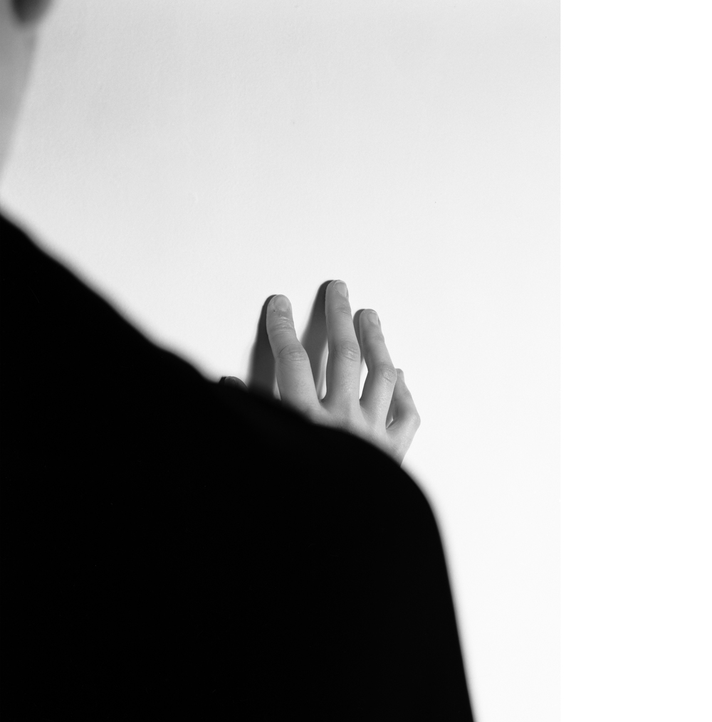 Hand , 2012, Silver gelatin print, 40 x 30 inches