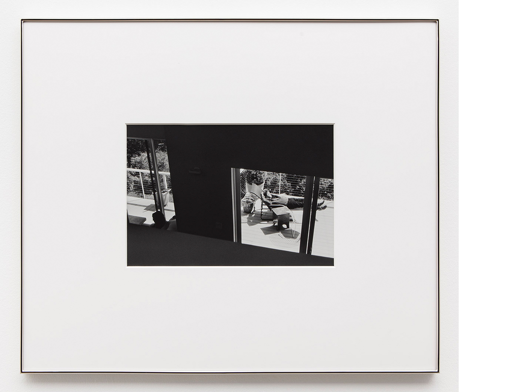 Parents/Separate Spaces , 2014, Silver gelatin print, 27x32 inches framed