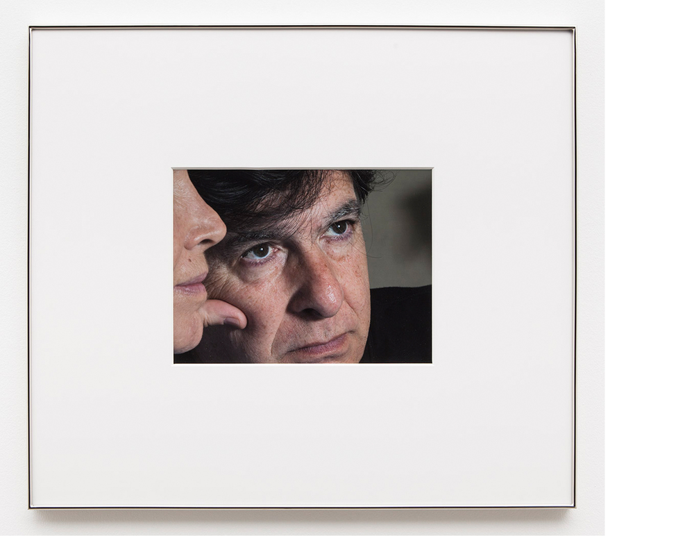 Parents Up Close , 2014, Digital C-print, 27x31 inches framed
