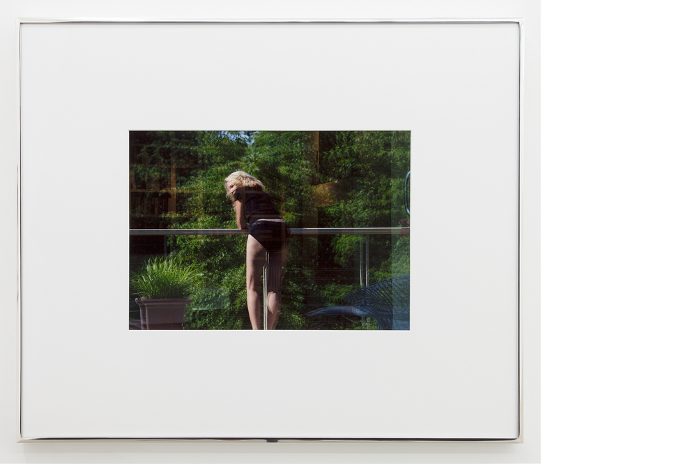 Mom (Window Reflection) , 2013, Digital C-print, 23x28 inches framed