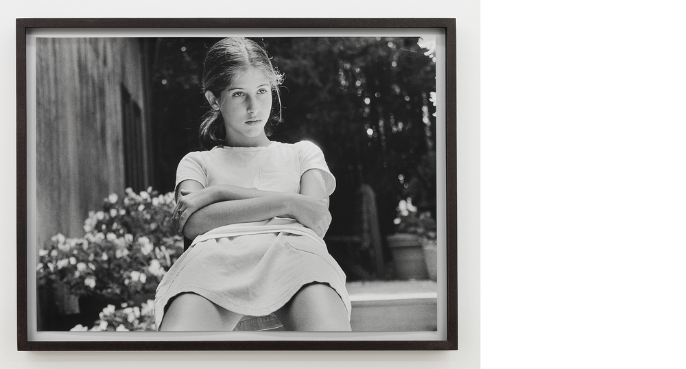 Self-portrait (13) , 1995/2013, Silver gelatin print, 18x25 inches