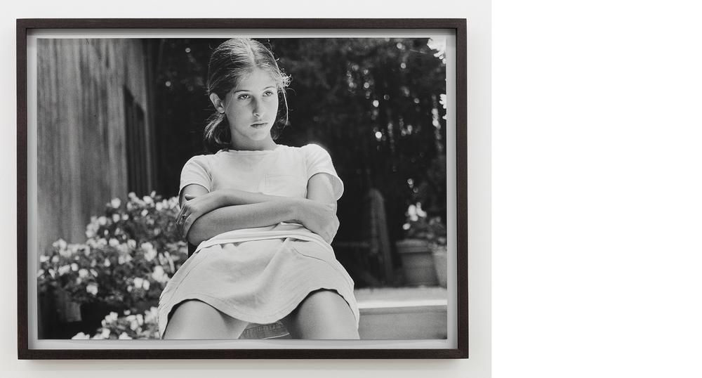 Self-portrait (13) , 1995/2013, Silver gelatin print, 18x25 inches