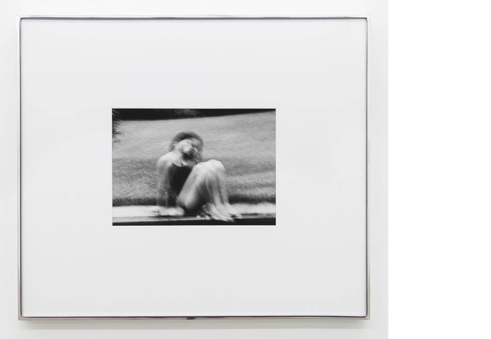 Self-portrait (Pool) , 1995/2013, Silver gelatin print, 23x27 inches framed