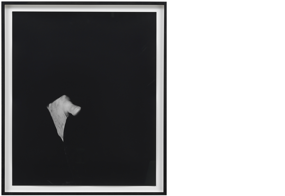 Hand on Body (Ass) 2012, Silver gelatin print, 24 x 20 inches