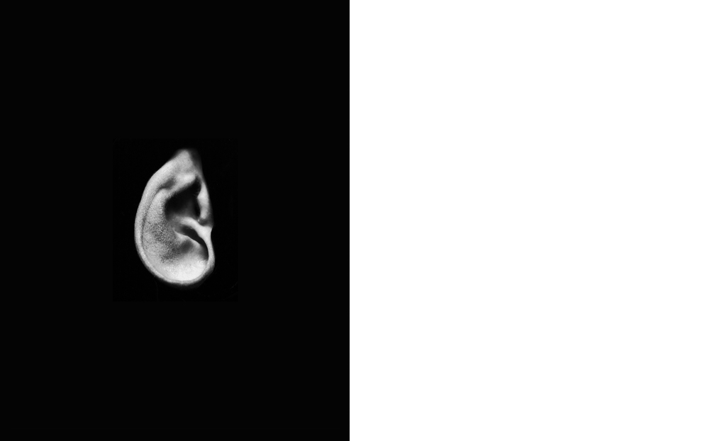 Ear  2012, Silver gelatin print, 24 x 20 inches