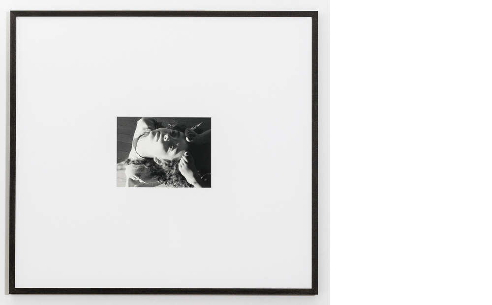 Backbend , 2015, Silver gelatin print, 24x26 inches framed