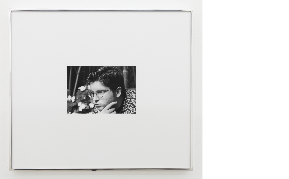 Brother , 1995/2013, Silver gelatin print, 20x23 inches framed