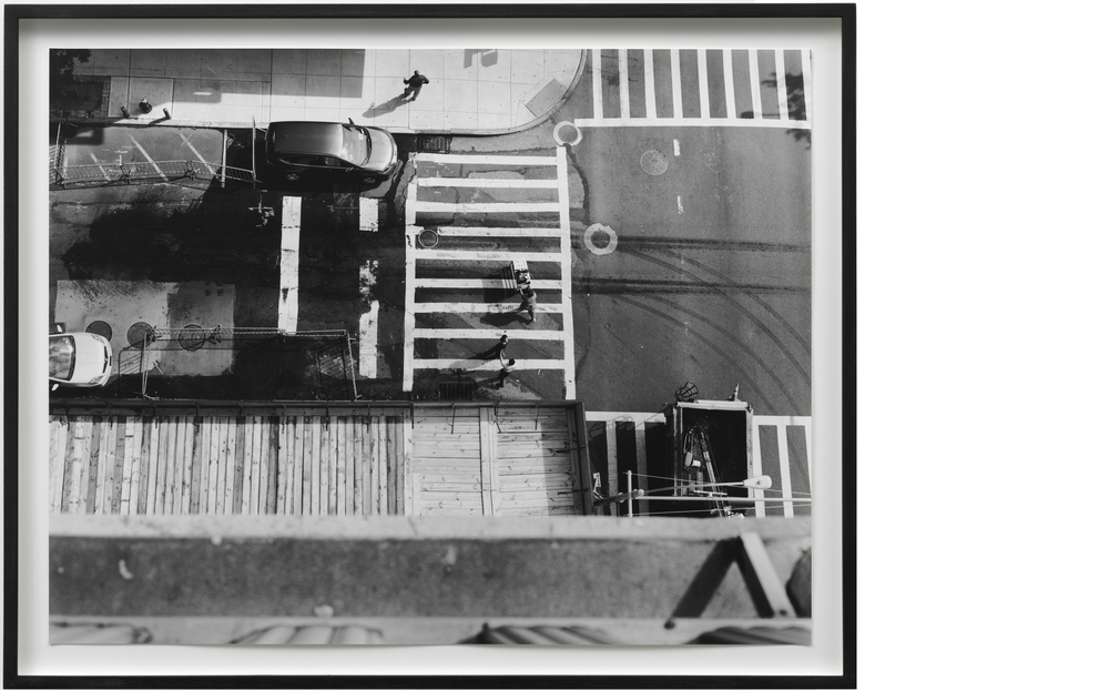 Street Contact 2012, Silver gelatin print, 20 x 24 inches