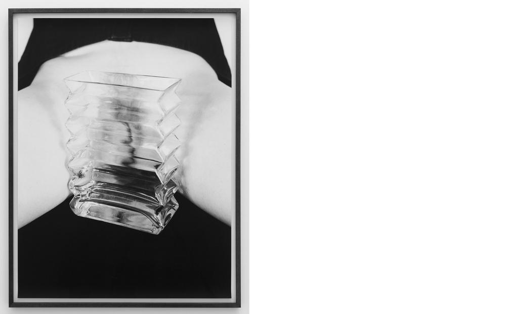 Vagina/Vase 2011, Silver gelatin print, 30 x 24 inches