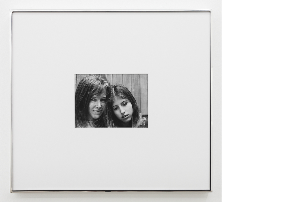 Portrait , 1995/2013, Silver gelatin print, 20x23 inches framed
