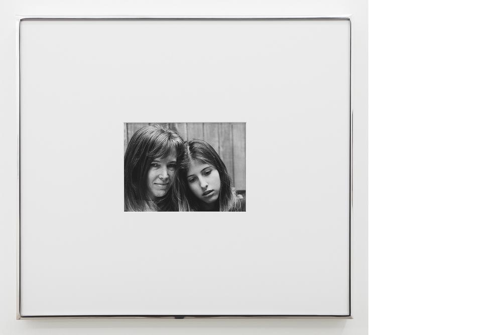 Portrait , 1995/2013, Silver gelatin print, 20x23 inches framed