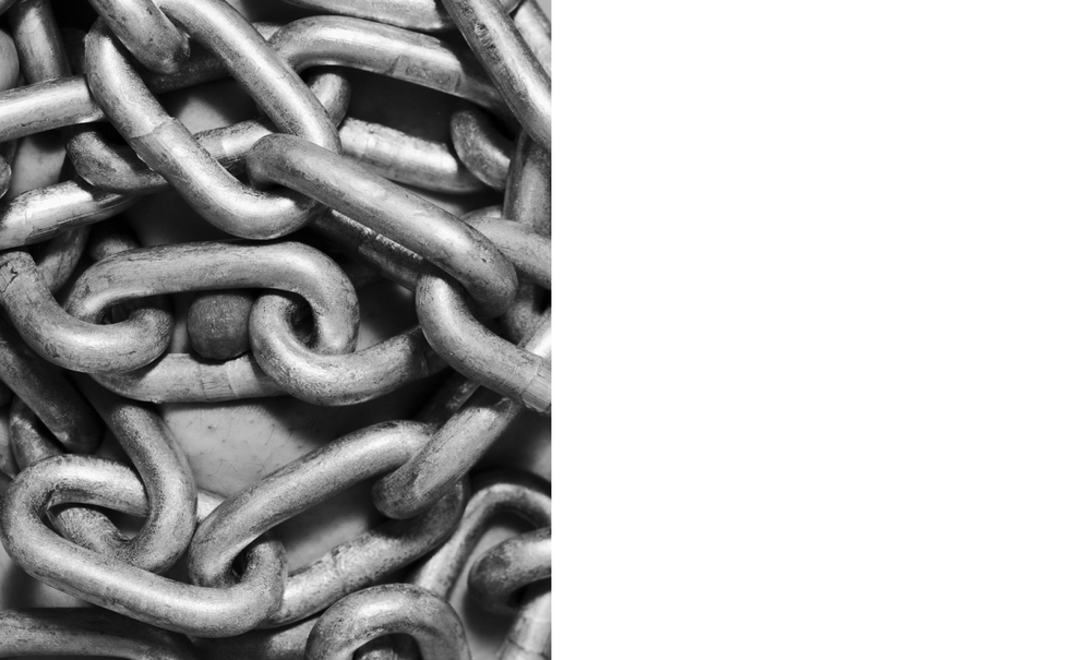 Nipple/Chain 2012, Silver gelatin print, 20 x 16 inches