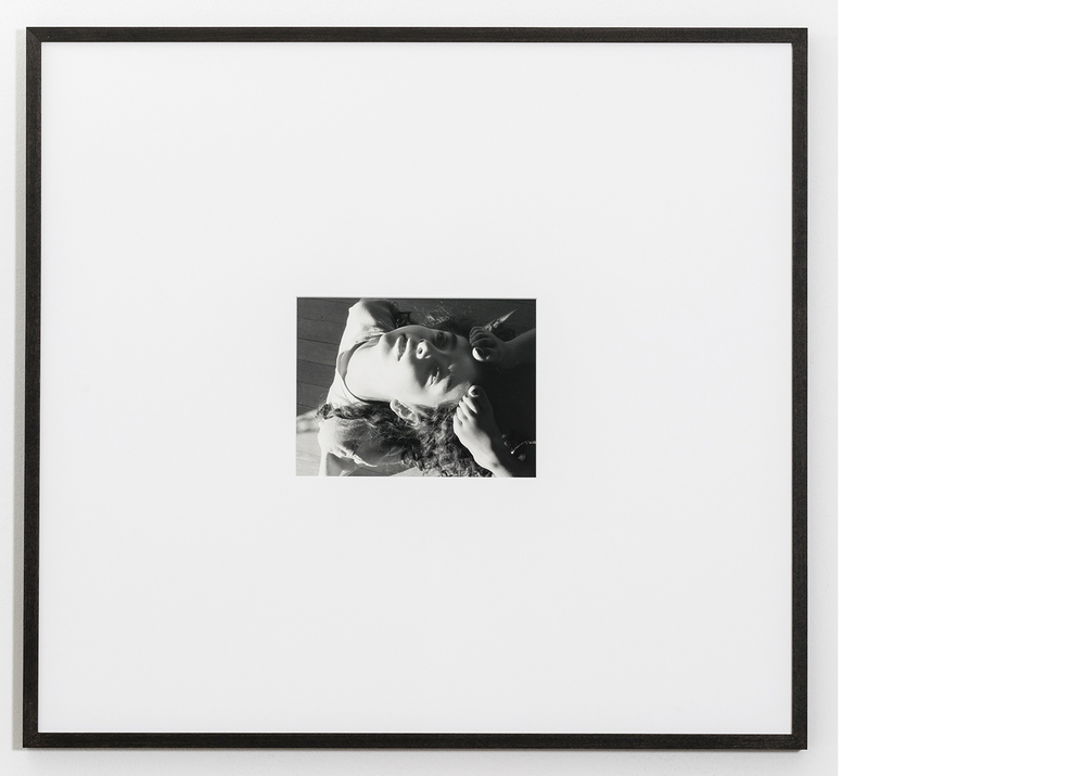 Backbend , 2015, Silver gelatin print, 24x26 inches framed