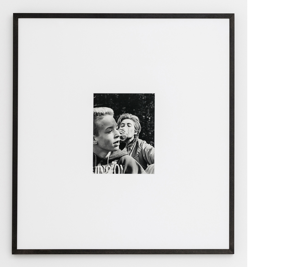 Soda , 2015, Silver gelatin print, 24x21 inches framed