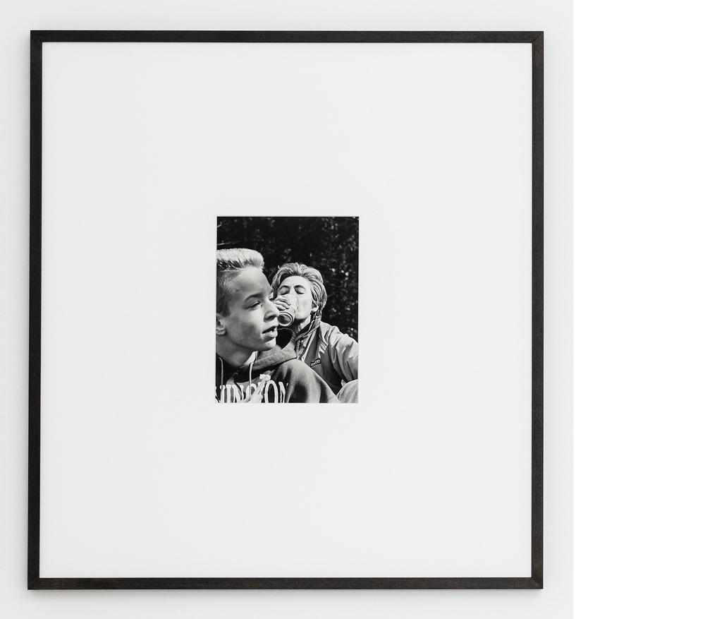 Soda , 2015, Silver gelatin print, 24x21 inches framed