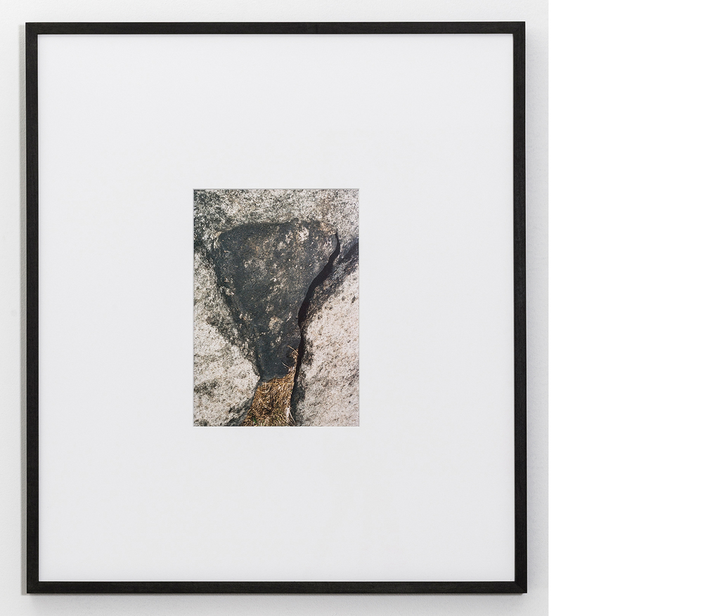 Rock , 2015, Inkjet print, 24x22 inches framed