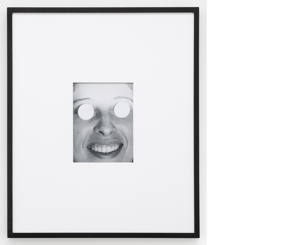 Mirror Eyes , 2016, Silver gelatin print, 20x22 inches framed