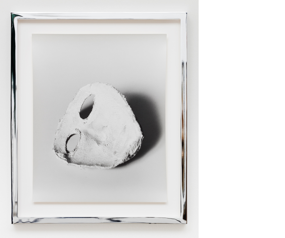 Mask , 2009, Silver gelatin print, 14x11 inches
