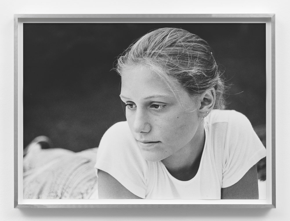 Untitled (White T-shirt) , 1996/2017, Silver Gelatin Print, 17 ½×24 inches