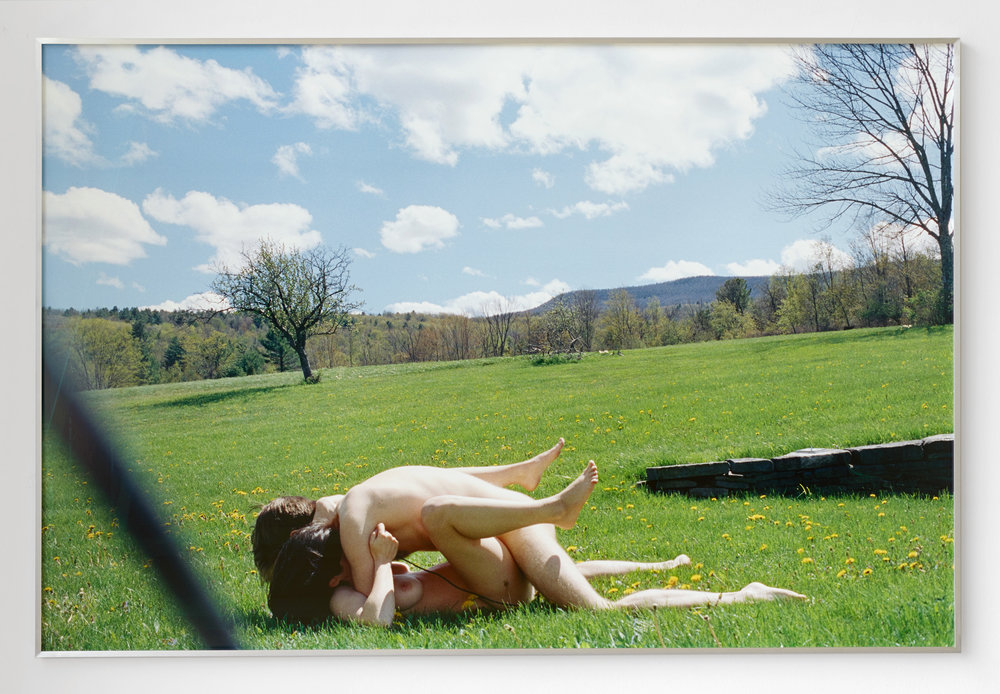 Untitled (Outdoor Sex #2) , 2018, Inkjet print, 40 × 60 inches