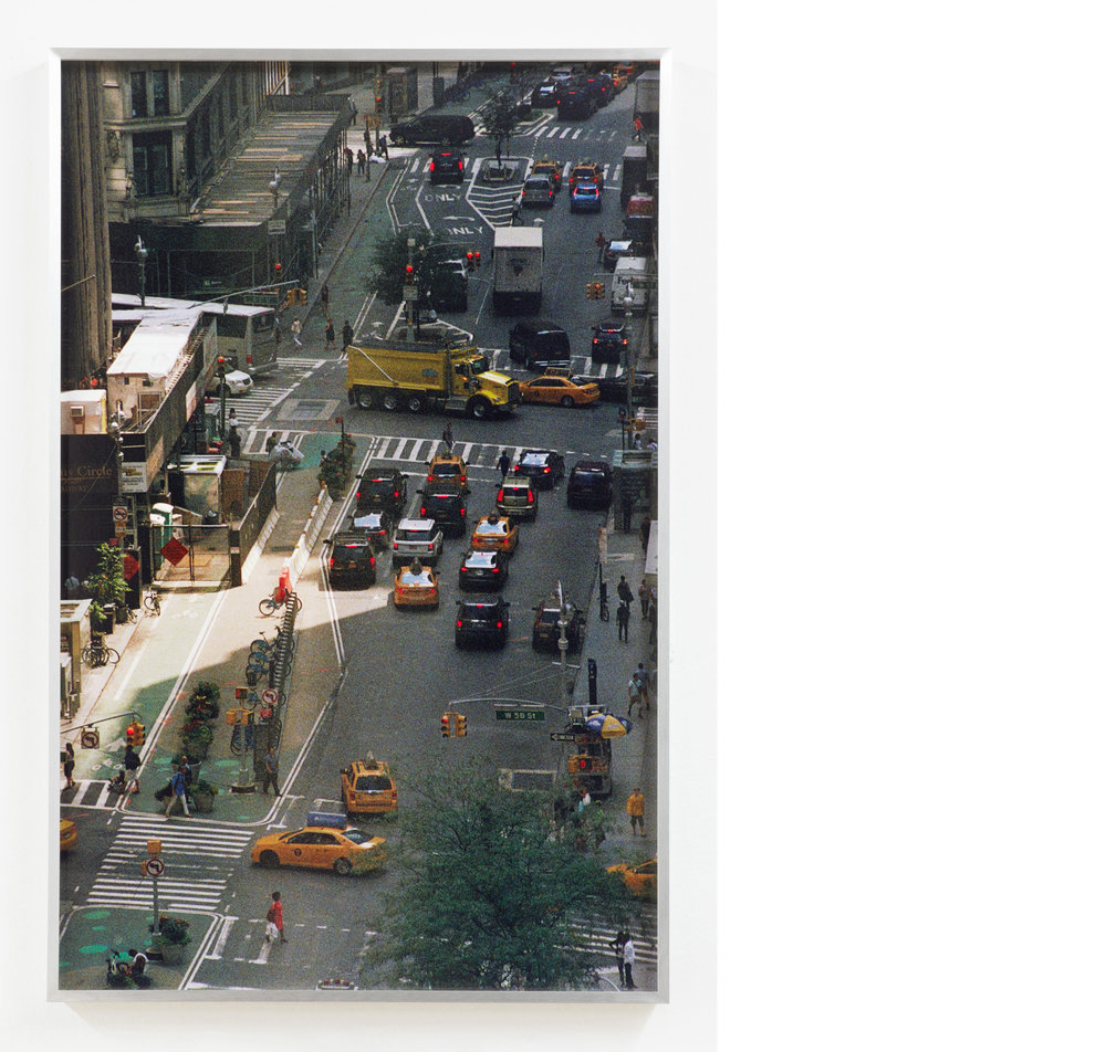 Streets #1,  2018, Inkjet print, 32 × 22.7 inches