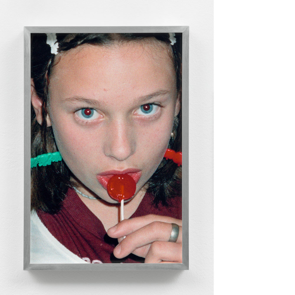 Face #1 , 1994/2017, Inkjet print, 14×9 ½ inches