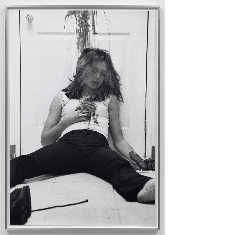 Murder Picture #2 , 1997/2017, Silver Gelatin Print, 40×27 inches